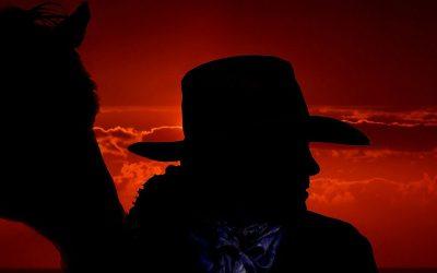 Bounty hunter in het Wilde Westen